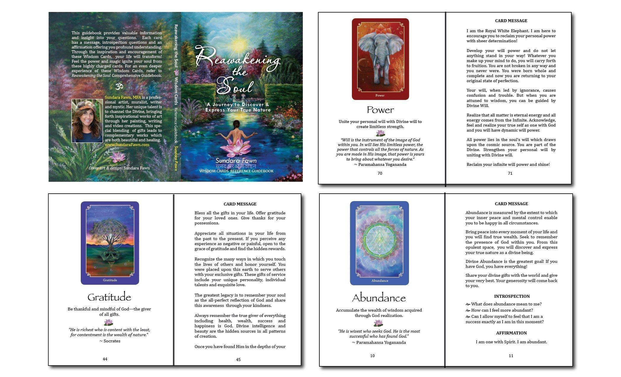 Sundara Fawn Wisdom Cards